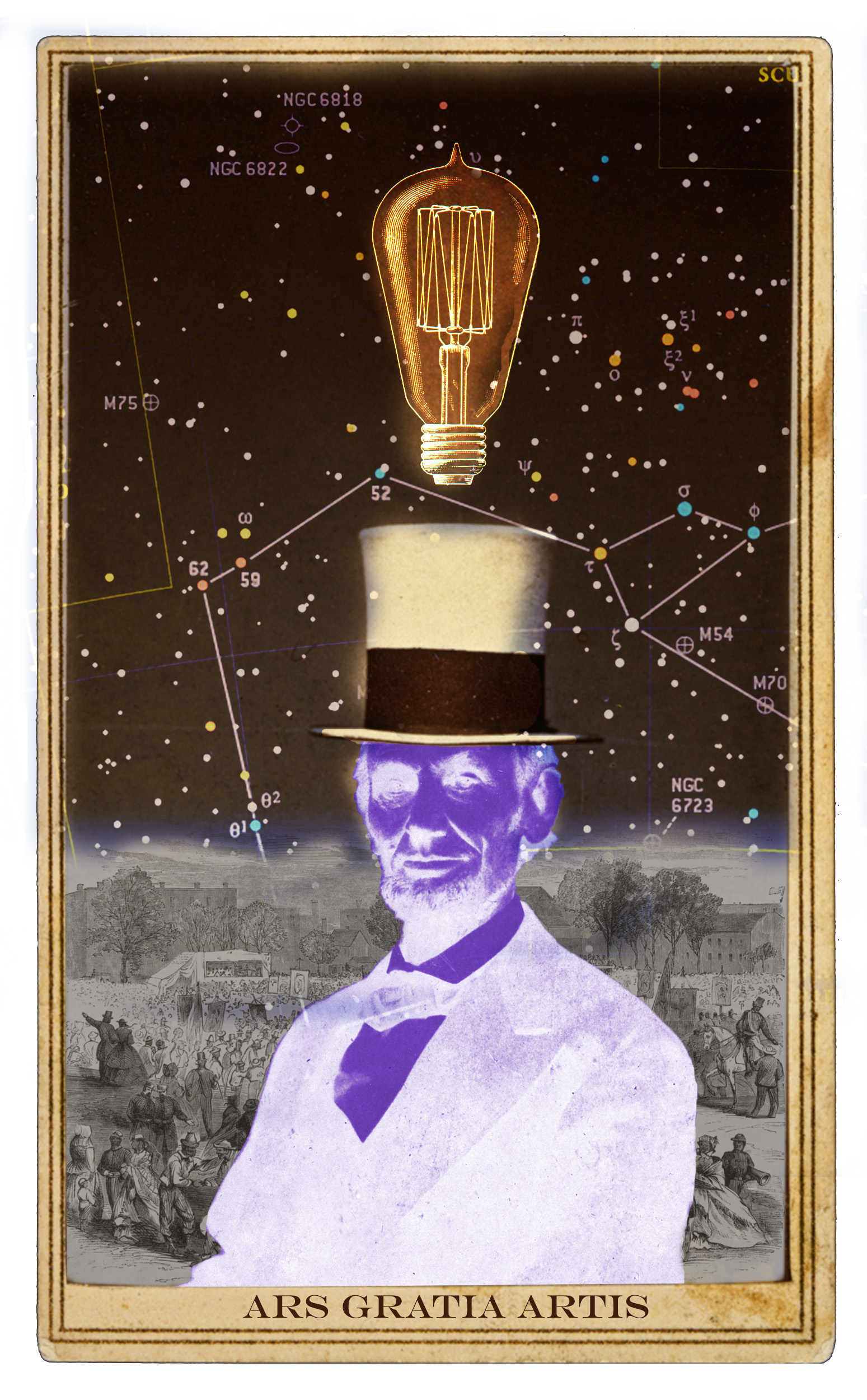 Top Hat Digital Archives Collage