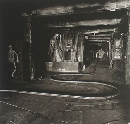 Diane Arbus, House of Horrors, 1961